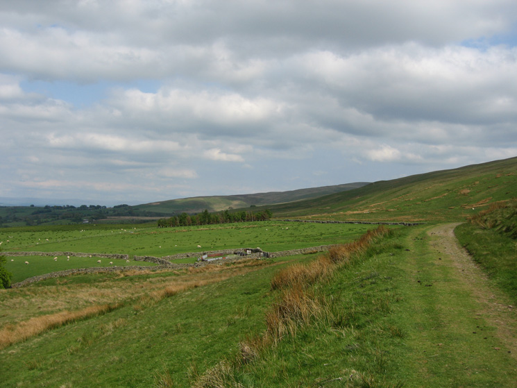 The track to Green Head from Longlands