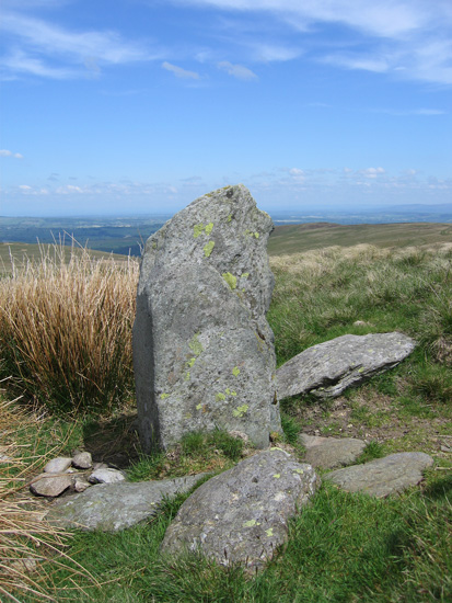 Lambert Lad (Boundary Stone) north of Loadpot Hill