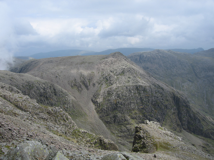 Ill Crag from Scafell Pike's south peak