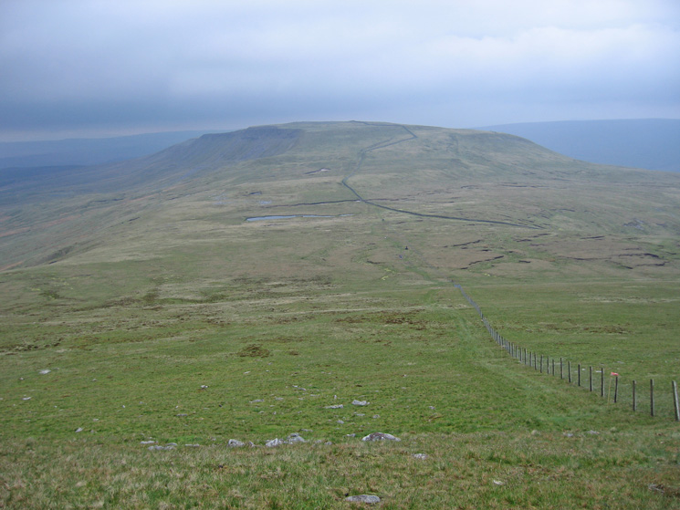 Swarth Fell from the descent off Wild Boar Fell