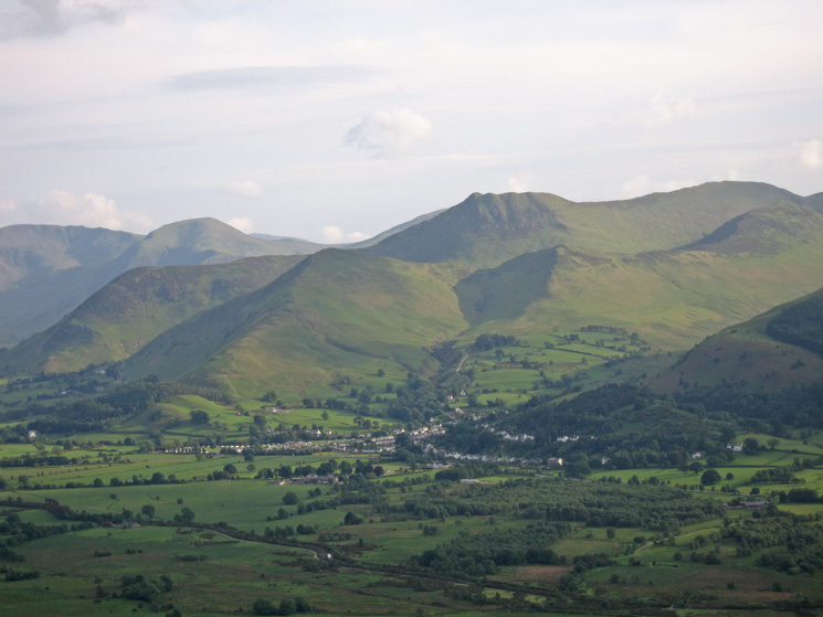 The distinctive Causey Pike