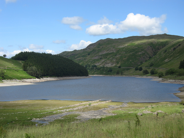 Haweswater, low for June, from Mardale Head