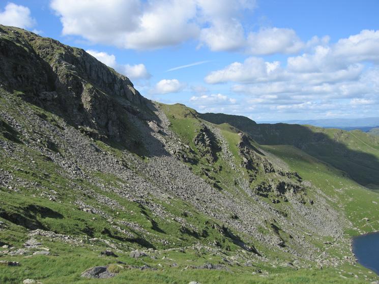 Mardale Ill Bell's east ridge