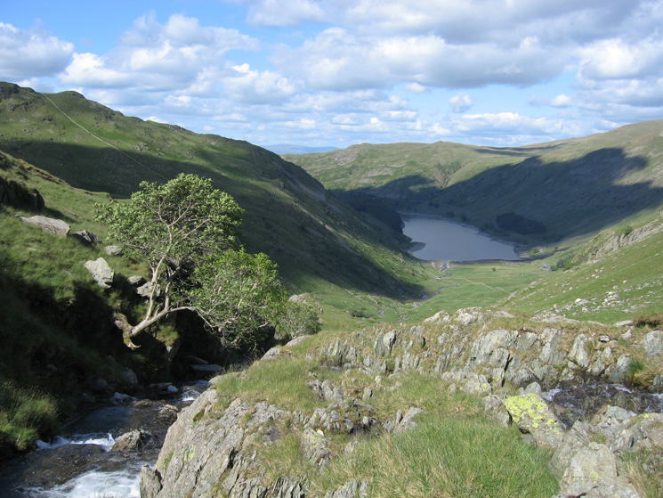 Haweswater from next to Small Water Beck