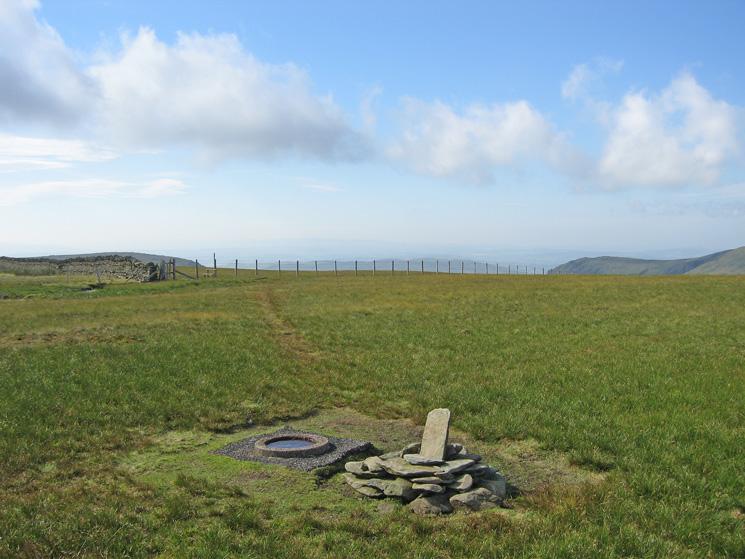 Branstree's summit, looking south