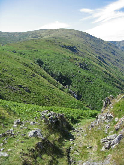 Branstree's north ridge