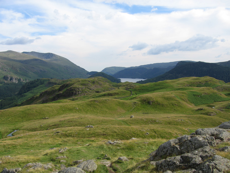The view south towards Thirlmere