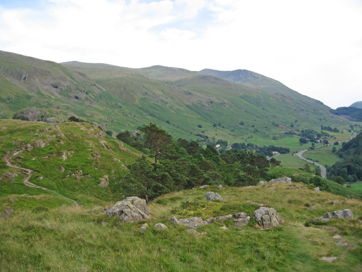 Helvellyn from the south end of High Rigg