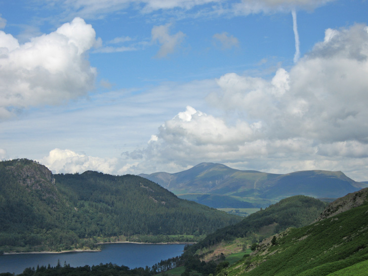 Thirlmere and Skiddaw