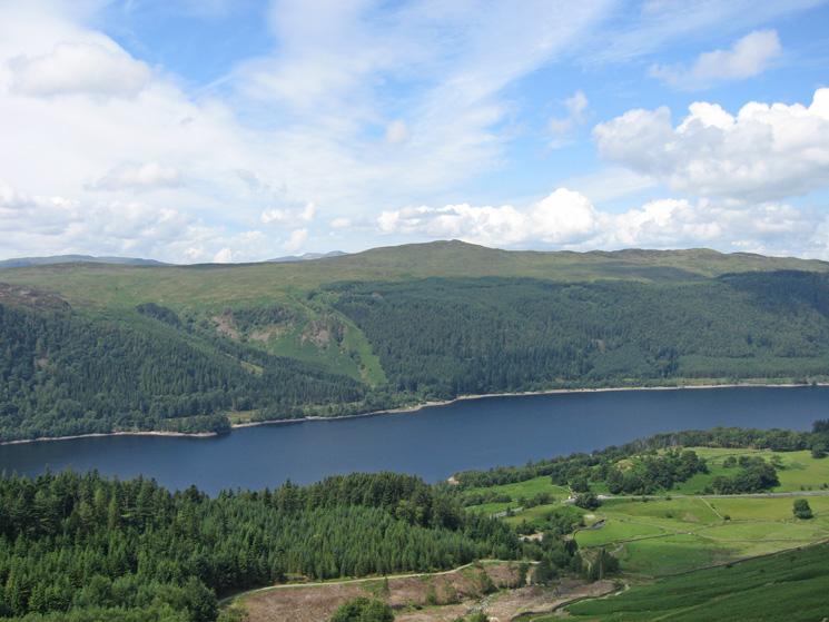 Looking over Thirlmere to High Seat