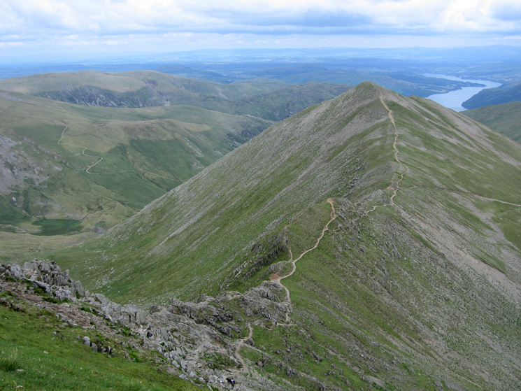 Swirral Edge to Catstycam