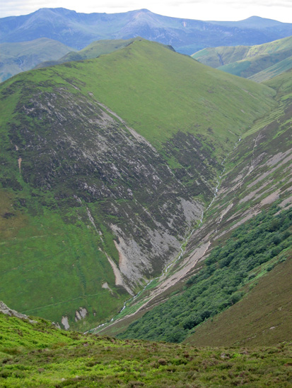 Ard Crags and the valley of Rigg Beck
