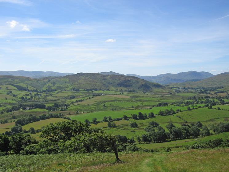 South to Gowbarrow Fell