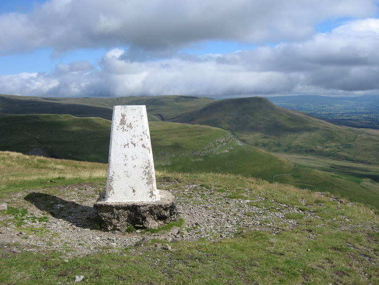 Southeast from Murton Pike's summit