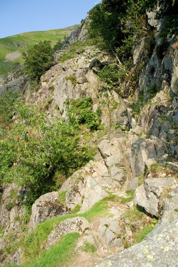 The second short scrambling section