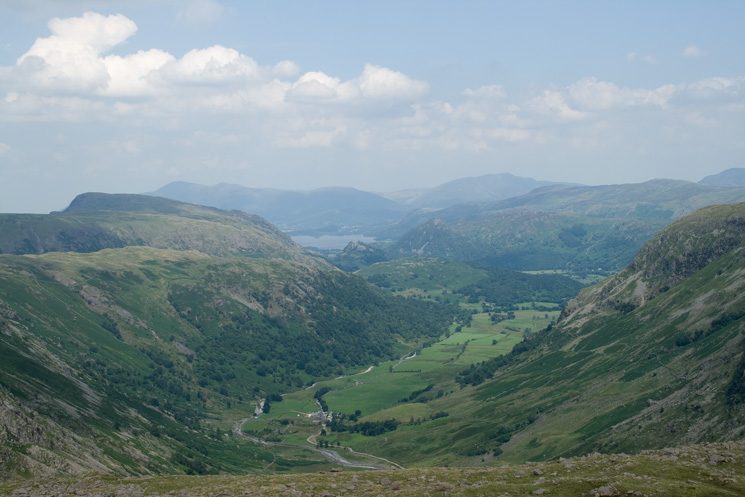 Borrowdale from Seathwaite Fell