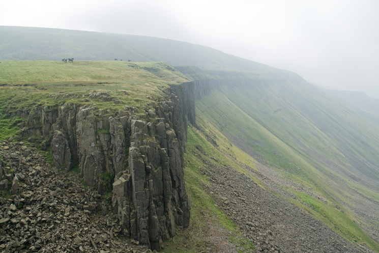 High Cup Gill's southern escarpment