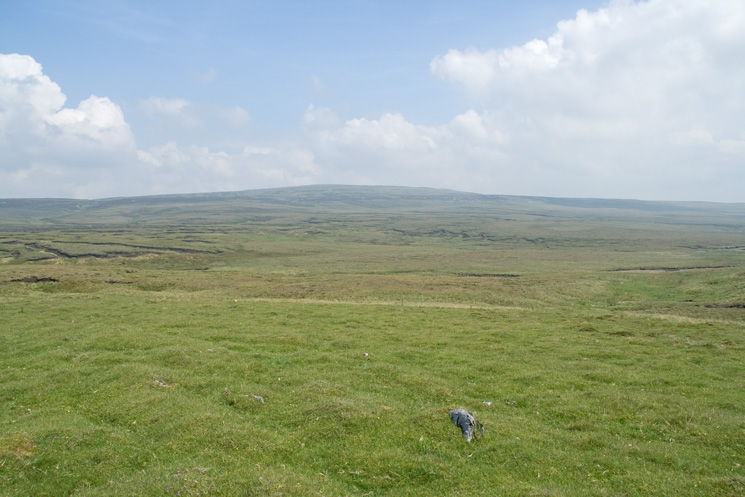 Looking towards Meldon Hill
