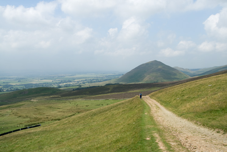 Dufton Pike from the descent to Dufton