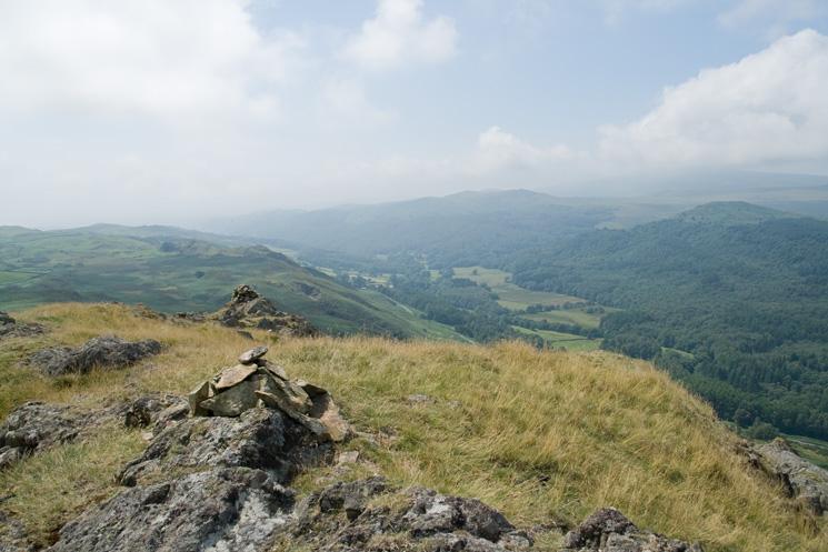 Dunnerdale Fells, AW's summit