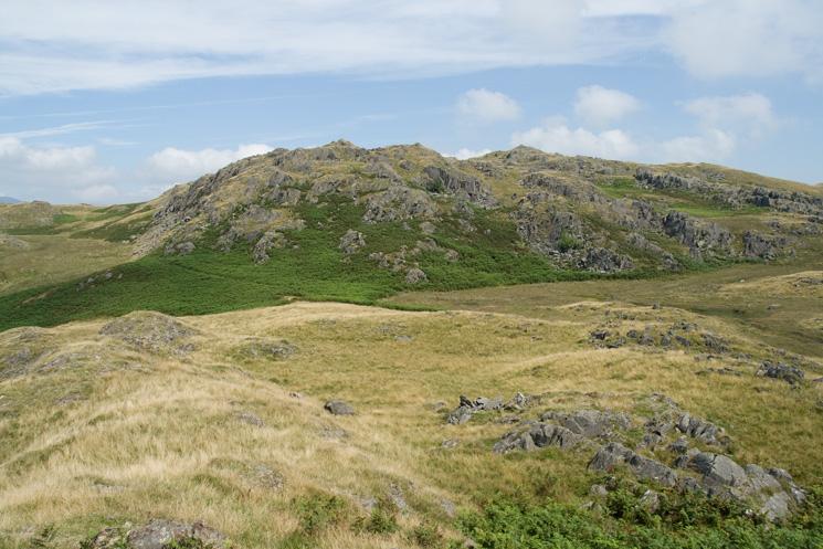 Tarn Hill from Dunnerdale Fells summit