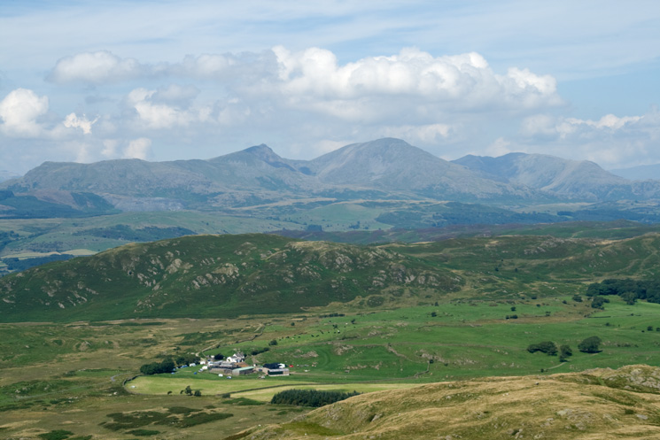 Zooming in on the Coniston Fells