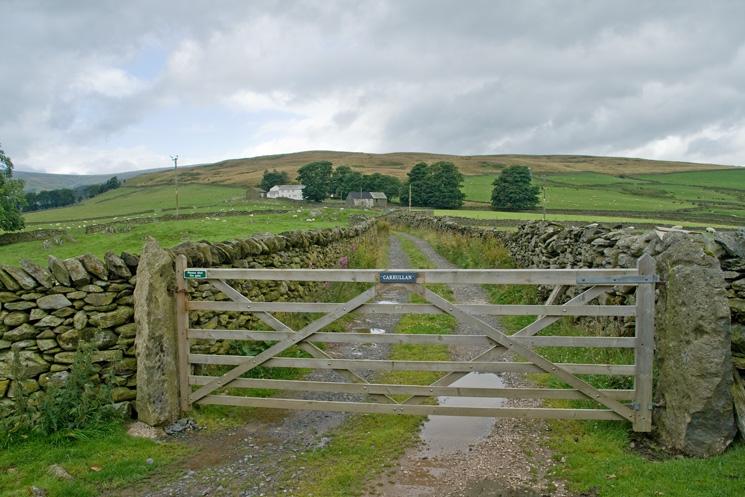The farm track to Carhullan