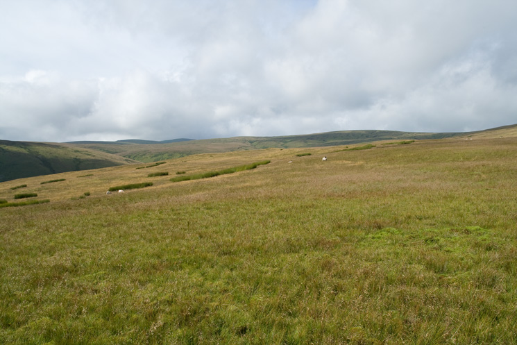 Wether Hill right of centre, the two tops in shadow on the left are Low Raise and High Raise