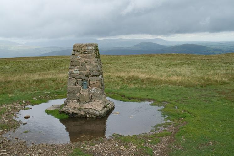 Loadpot Hill summit trig point