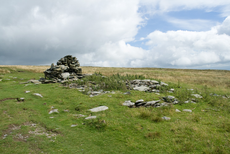 All that remains of Lowther House, a former shooting lodge