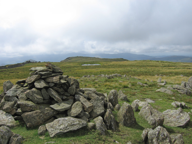 Looking towards White Pike from White Maiden's summit cairn