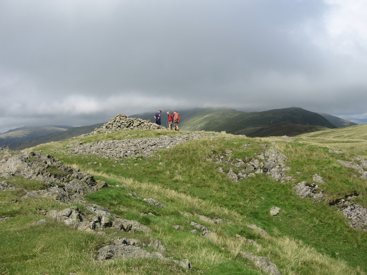 White Pike's summit