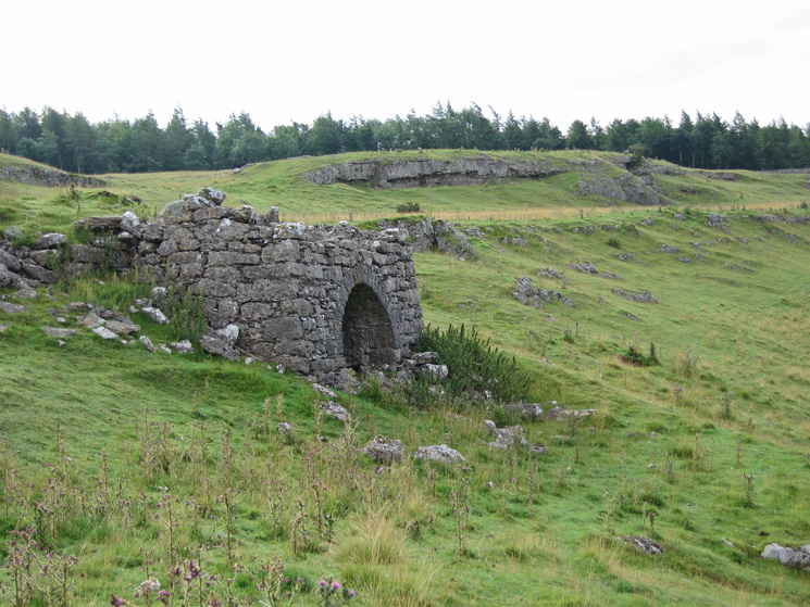 An old limekiln, Knipescar Common