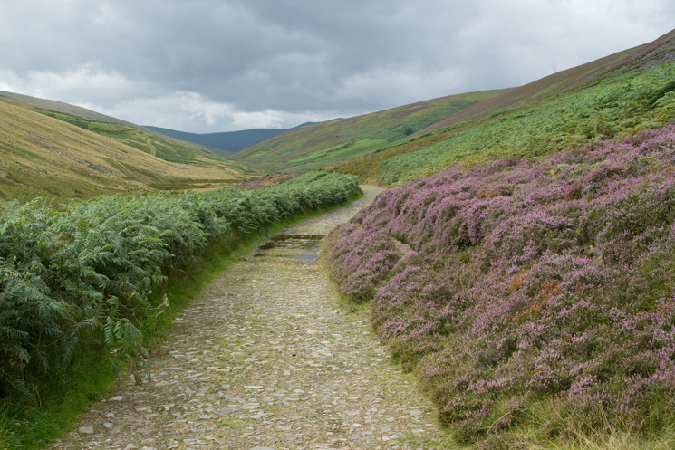 Heading out on the Cumbria Way