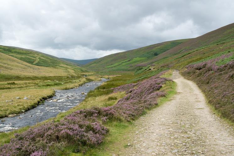 The Cumbria Way follows the River Caldew