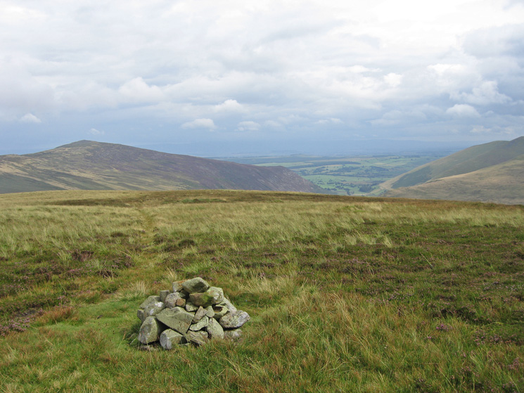 Carrock Fell from the cairn on Coomb Height