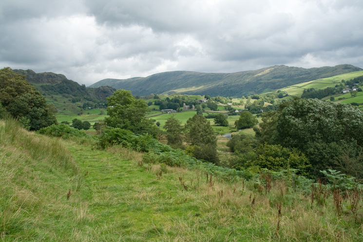 Kentmere from the path to Kentmere Hall