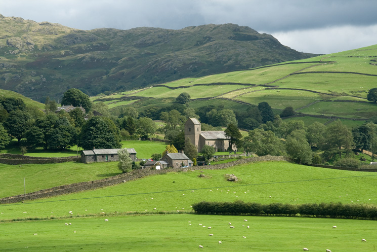 Zooming in on Kentmere Chruch