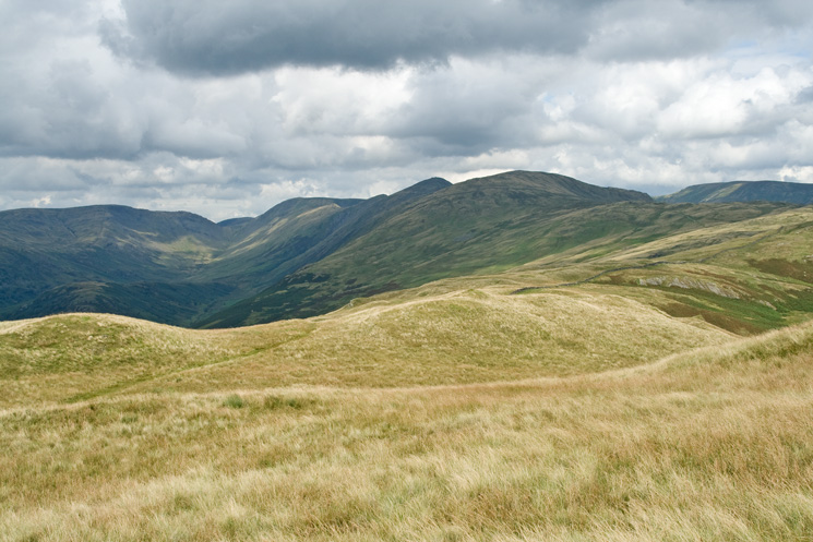 The Ill Bell ridge from Sour Howes