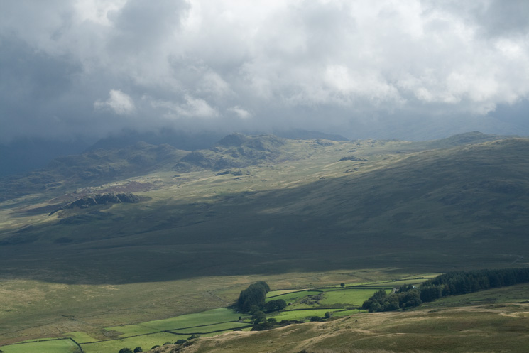 Looking across to Green Crag from Woodend Height