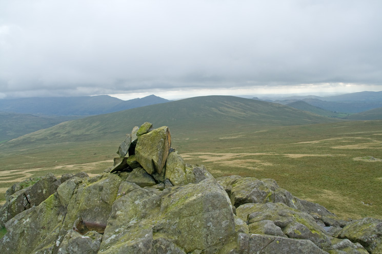 Hesk Fell from Yoadcastle's summit