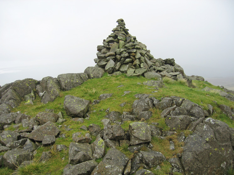 Stainton Pike's summit cairn