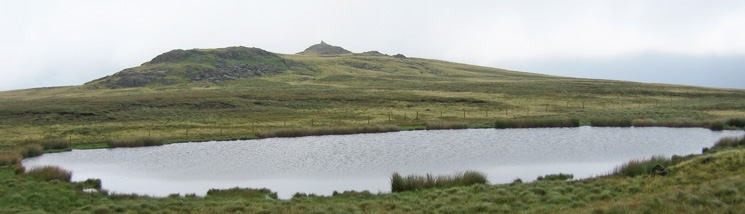 Holehouse Tarn with Stainton Pike behind