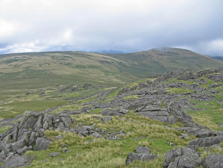 Burn Moor and Whitfell from Buck Barrow
