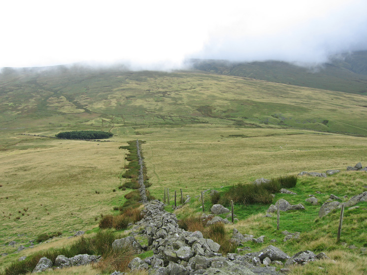 South, our route, from Stoneside Hill