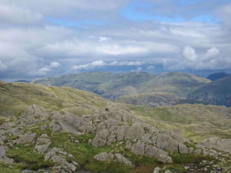 Helvellyn from Pavey Ark's summit