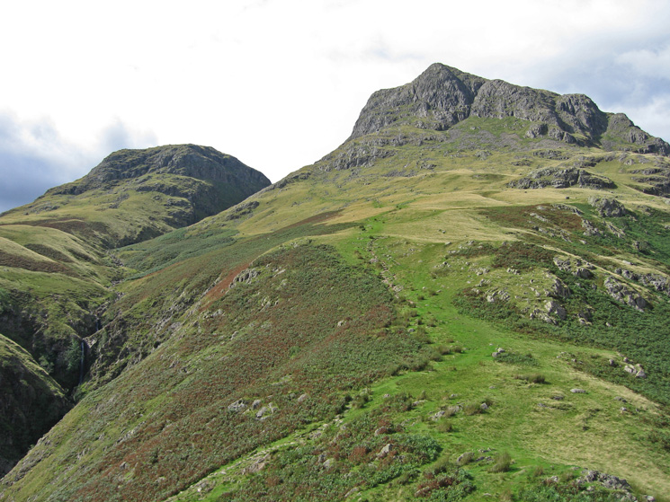 Thorn Crag and Harrison Stickle from Pike Howe