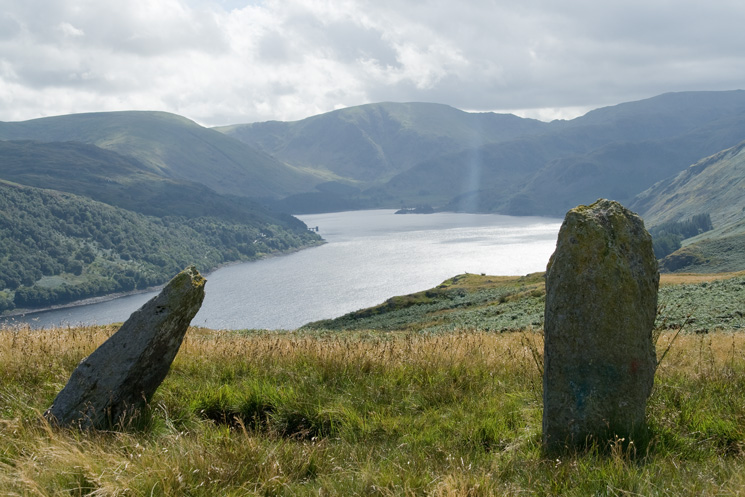 Haweswater and Mardale Head from the standing stones