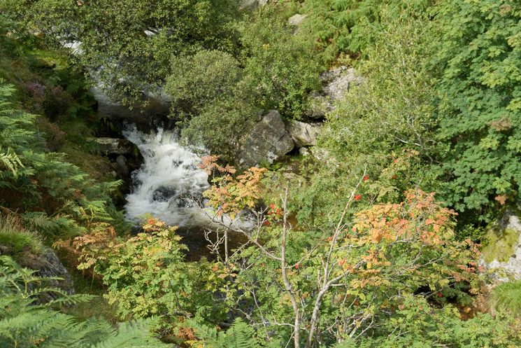Measand Beck above the main falls