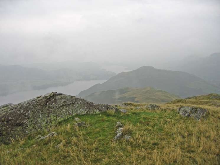 Ullswater, Sleet Fell and Hallin Fell from the summit of High Dodd